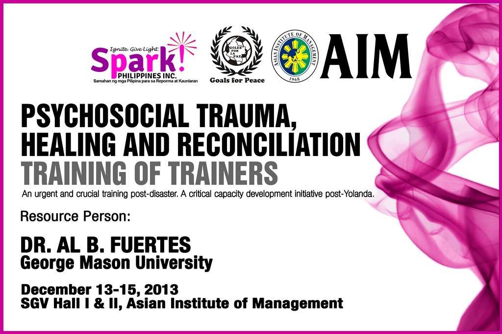 Psychosocial Trauma, Healing and Reconciliation Training of Trainers