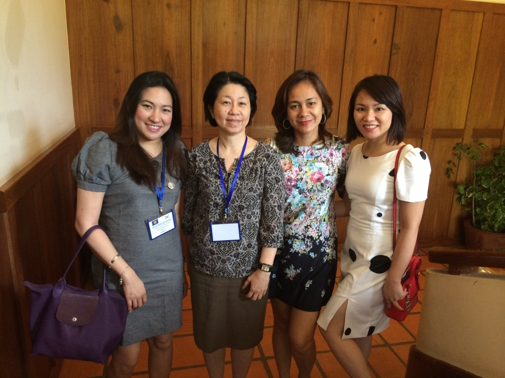 Together with Ms. Lai Peng Yap, Head of Competition, Consumer Protection and IPR Direction of the ASEAN Secretariat